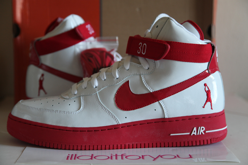 0a8892f8b2e3 ... germany nike air force 1 high sheed players sample white red 3b971 6a3a0