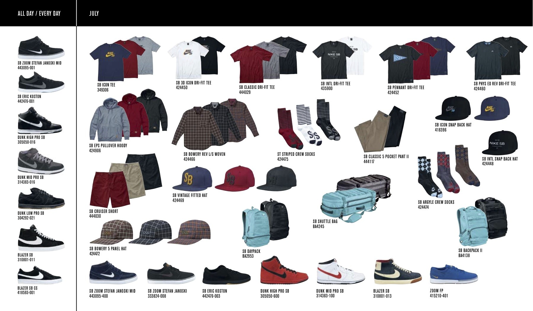 newest 4136f b43fb Nike SB Fall 2011 Catalog