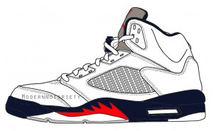 the latest adfb0 70d45 Air Jordan V 5 - White-Midnight Navy-Varsity Red 2011