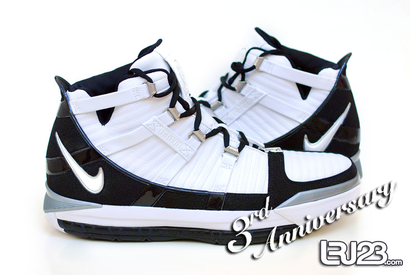 Nike Zoom Lebron III Oakland Raiders Player Exclusive