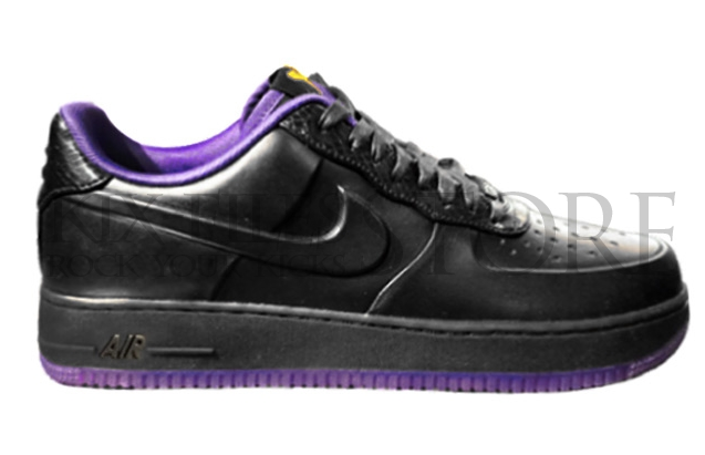 wholesale dealer 48b40 3c51b Nike Air Force 1 Low Supreme VT TZ - Kobe Bryant  Black Mamba