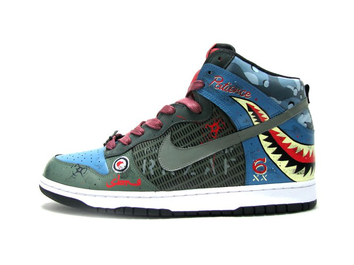 the latest 050b9 4f9b8 Nike Dunk High 'Firecracker' SBTG Custom