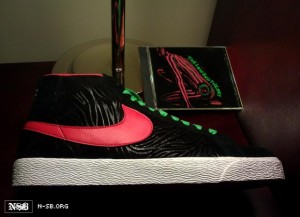 wholesale dealer 6a5e8 c5df5 Nike SB Blazer A Tribe Called Quest  Low End Theory