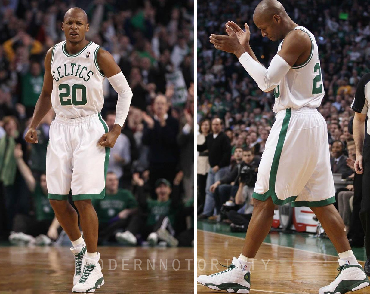 Ray Allen Air Jordan 13 Player Exclusive Boston Home