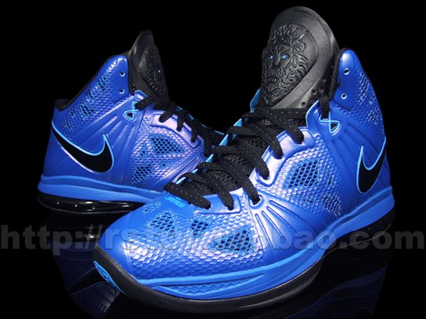 lebron 8 royal blue - photo #1