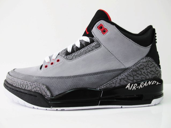 Air Jordan Retro 3 - Stealth (8)