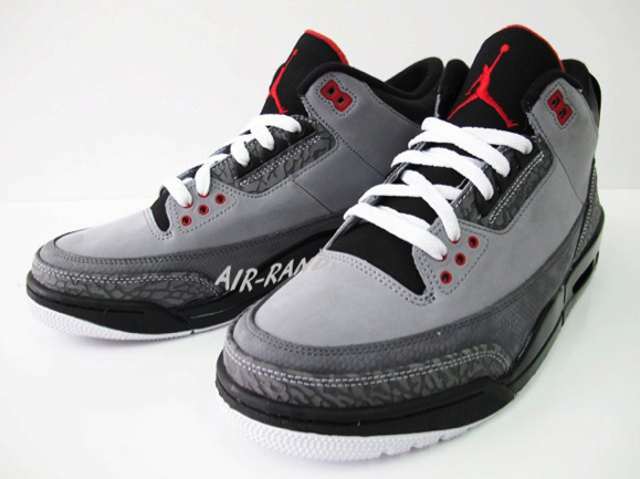 Air Jordan Retro 3 - Stealth (4)