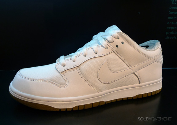 Nike Dunk Low - White - Gum - Gingham