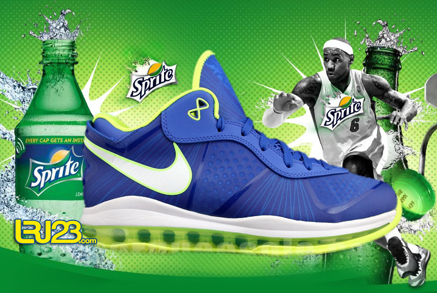 lebron 8 sprite. As of now, The Nike Lebron 8