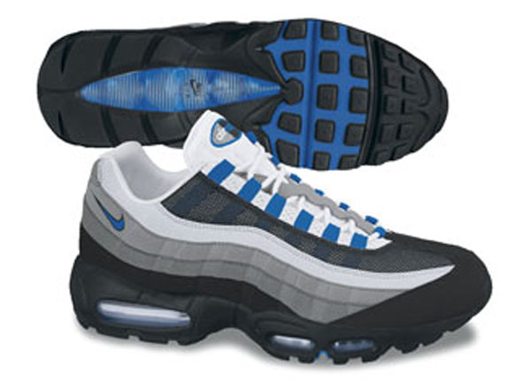 Air Max 95 Blue And Gray