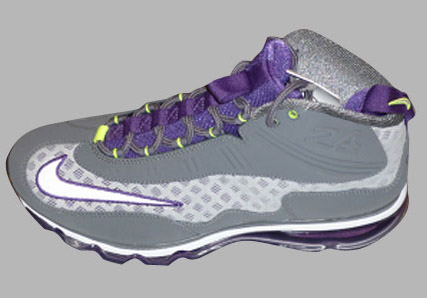 Nike Air Max Jr - Grey - Purple - Volt