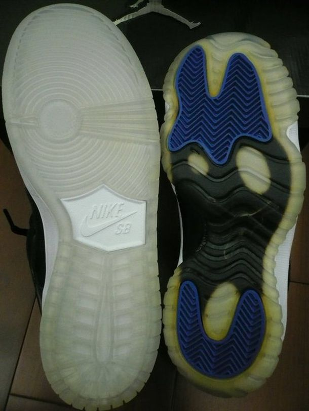 Air Jordan 11 and Nike SB Dunk Low 'Space Jam' Comparison (7)