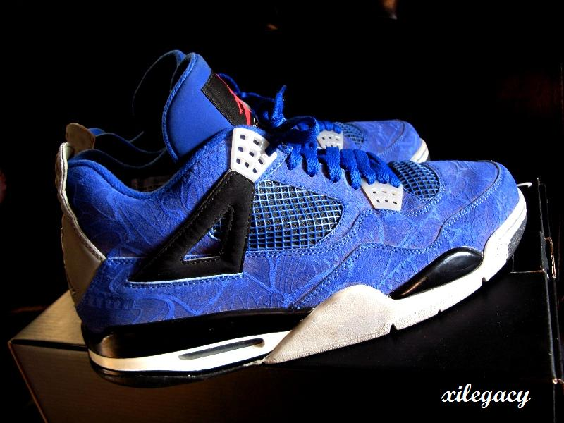 Air Jordan 4 Retro Blue Laser