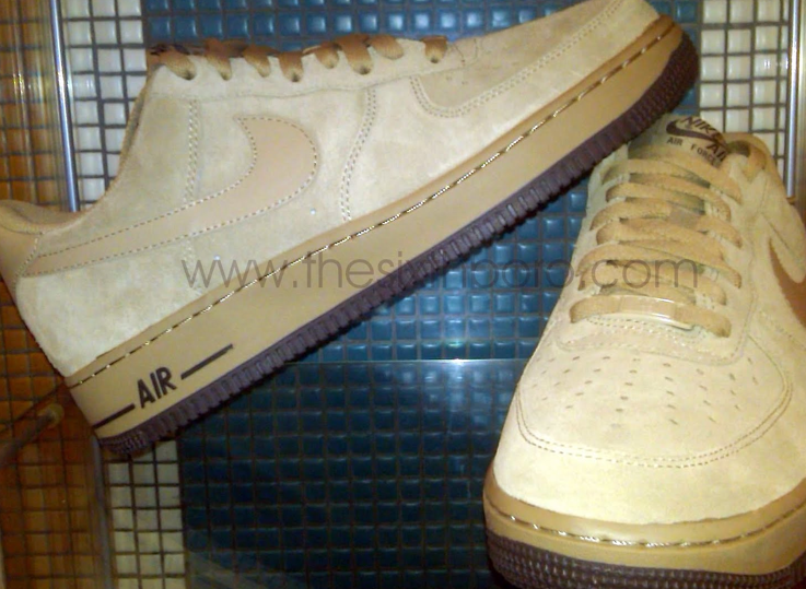 Nike Air Force 1 Khaki/Cinder