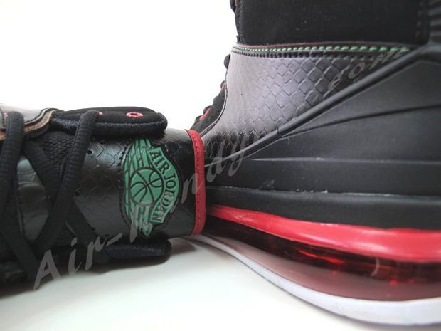 Air Jordan 2 Max Black Green Red White (1)