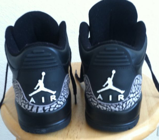 Air Jordan 3 Black Cement (4)