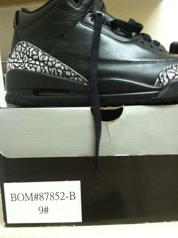 Air Jordan 3 Black Cement (2)