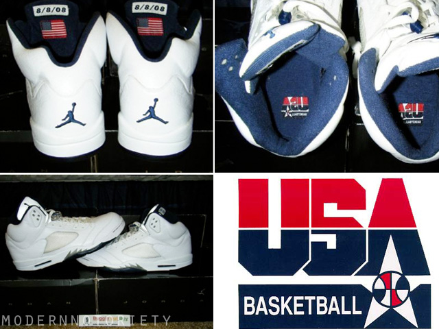 info for b1650 4c8ca Air Jordan 5 Carmelo Anthony Olympic PE on Ebay