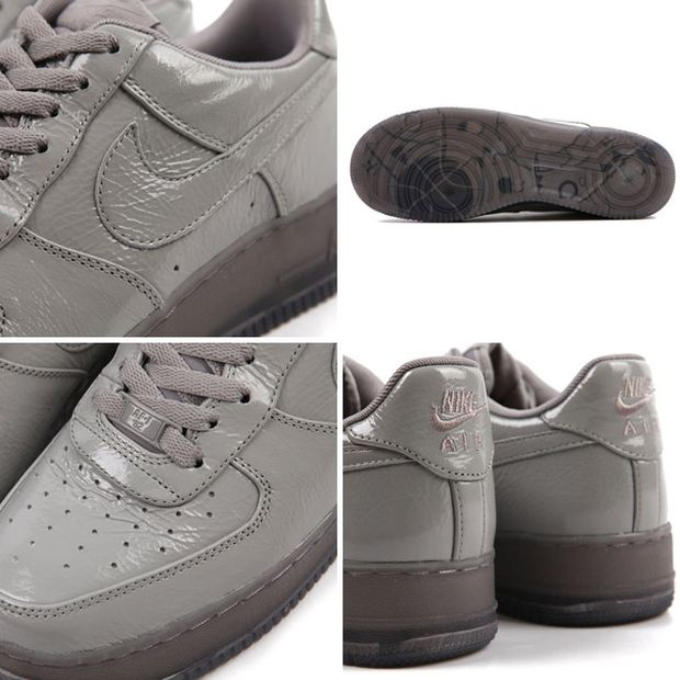 Nike Air Force 1 Low Grey 'Crinkled Patent'