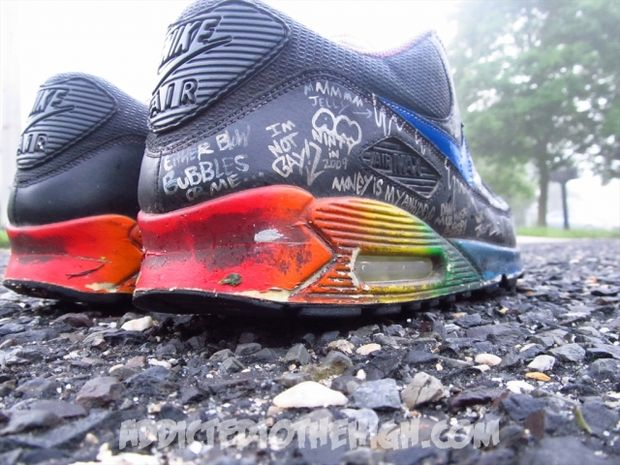 Nike Air Max 90 Busy P Customs by Mizzee (10)