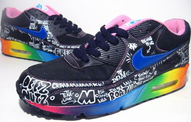 Nike Air Max 90 Busy P Customs by Mizzee (8)