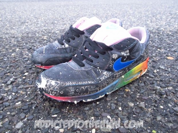 Nike Air Max 90 Busy P Customs by Mizzee (3)
