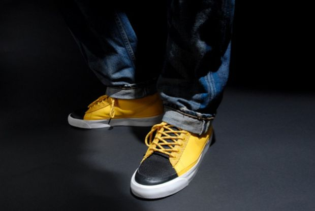 Nike Blazer High Black Yellow White (5)