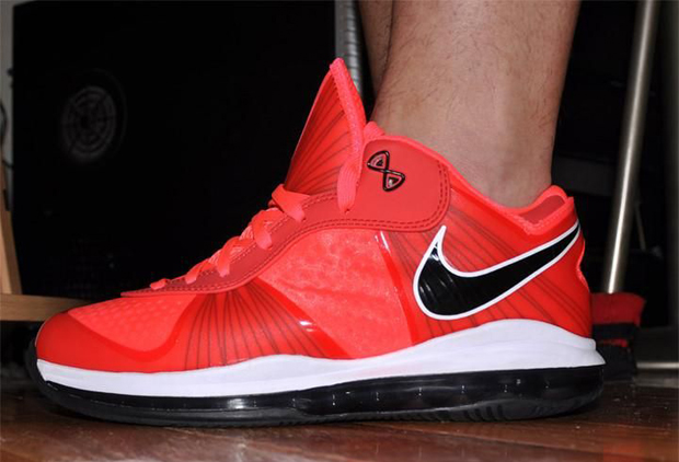 lebron 8 low. nike lebron 8 v2 low infrared (1)