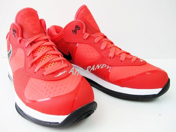 Nike Lebron 8 V2 Low Solar Red (3)