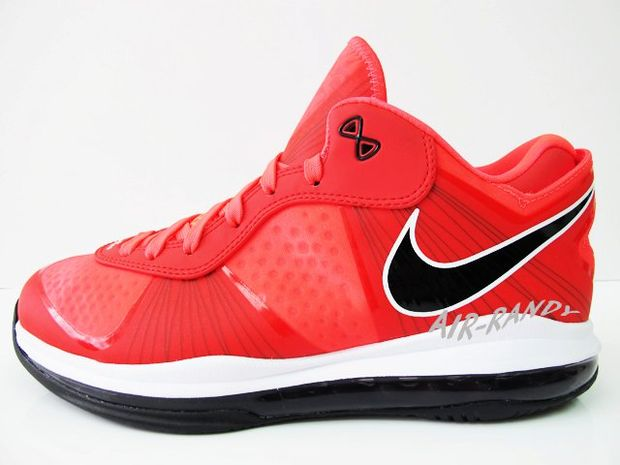 Nike Lebron 8 V2 Low Solar Red (1)