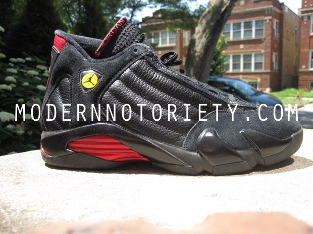 Air Jordan 14 Retro Last Shot Black / Varsity Red 2011 (12)