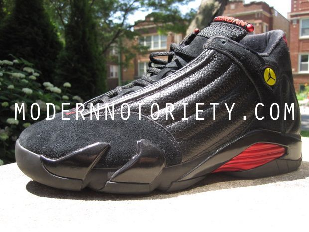 Air Jordan 14 Retro Last Shot Black / Varsity Red 2011 (8)