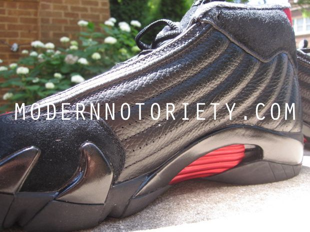 Air Jordan 14 Retro Last Shot Black / Varsity Red 2011 (6)