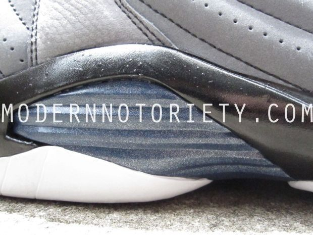 Air Jordan 14 XIV Light Graphite/Midnight Navy - Black (26)
