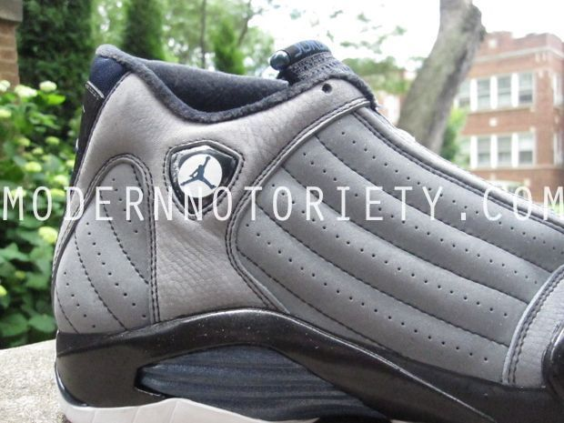 Air Jordan 14 XIV Light Graphite/Midnight Navy - Black (23)