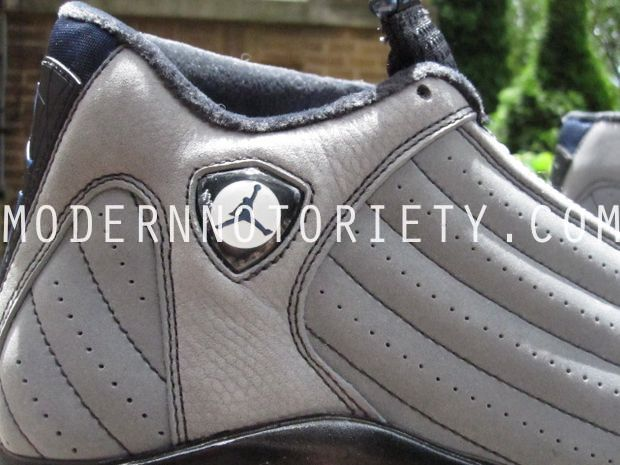 Air Jordan 14 XIV Light Graphite/Midnight Navy - Black (14)