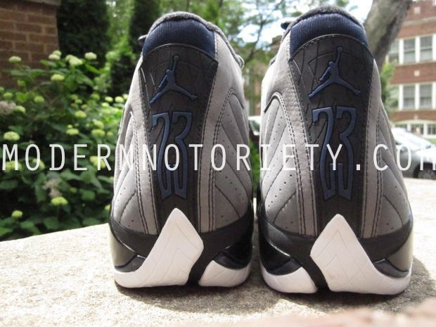 Air Jordan 14 XIV Light Graphite/Midnight Navy - Black (8)