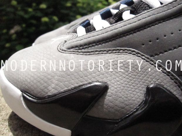 Air Jordan 14 XIV Light Graphite/Midnight Navy - Black (1)