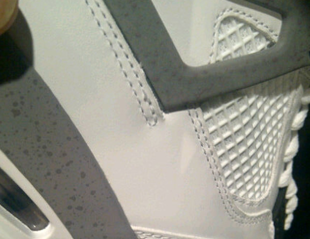 Air Jordan 4 Retro White/Cement 2012 Sample