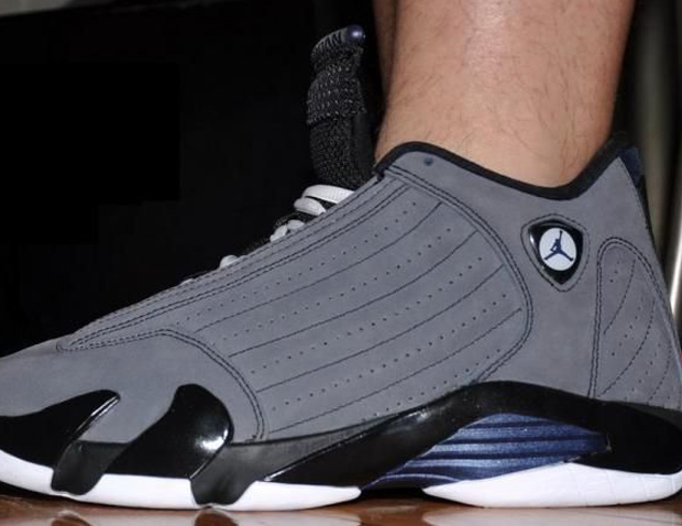 Air Jordan XIV Light Graphite Midnight Navy