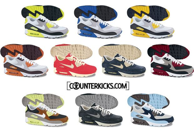 air max 90 all colors