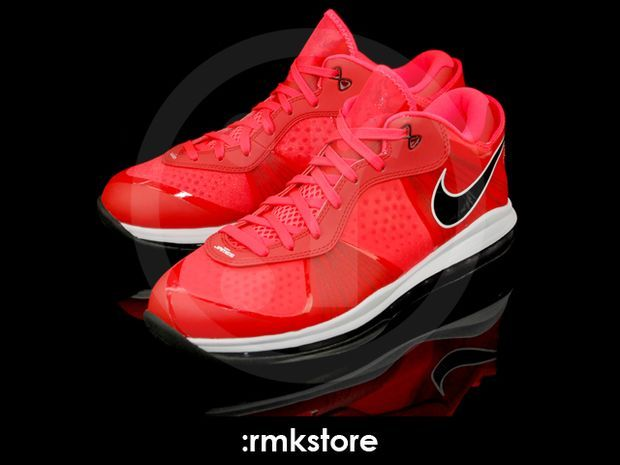 Nike Lebron 8 V2 Low Solar Red (8)