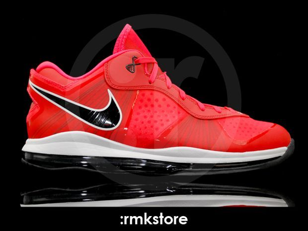 Nike Lebron 8 V2 Low Solar Red (5)
