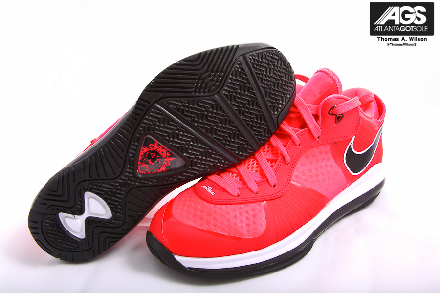 Nike Lebron 8 V2 Low Solar Red (4)