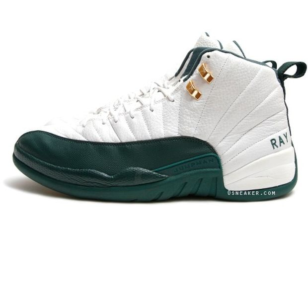 Air jordan 12 Ray Allen Boston Player Exclusive (1)