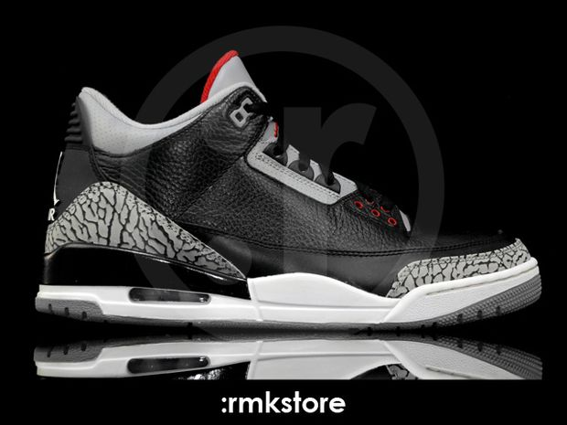 Air Jordan 3 Black / Cement 2011 (12)