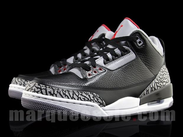 Air Jordan 3 Black / Cement 2011 (3)