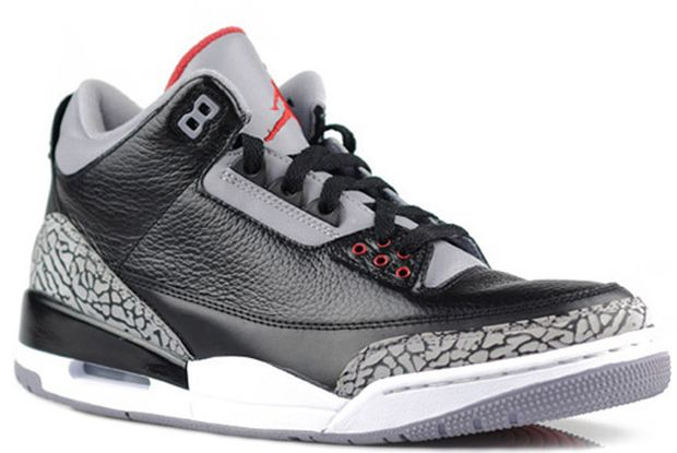 New Jordan Release: Black Cement Retro III's