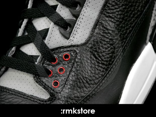 Air Jordan 3 Black / Cement 2011 (7)