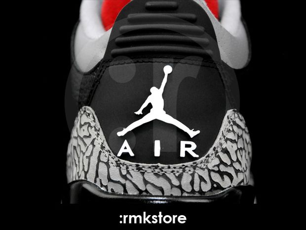 Air Jordan 3 Black / Cement 2011 (5)